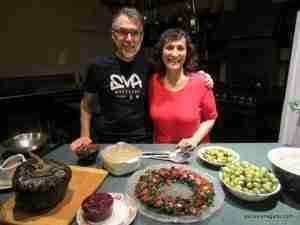 Cam & Vesanto celebration meal
